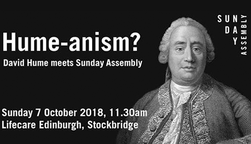 Sunday Assembly 7 October 2018 – Hume-anism?