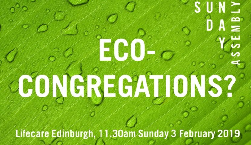 Eco-Congregations? Sunday 3rd February 2019, 11.30am