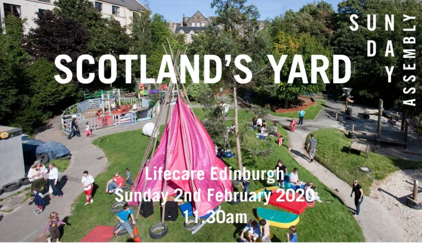 Sunday Assembly 2 February 2020: Scotland's Yard