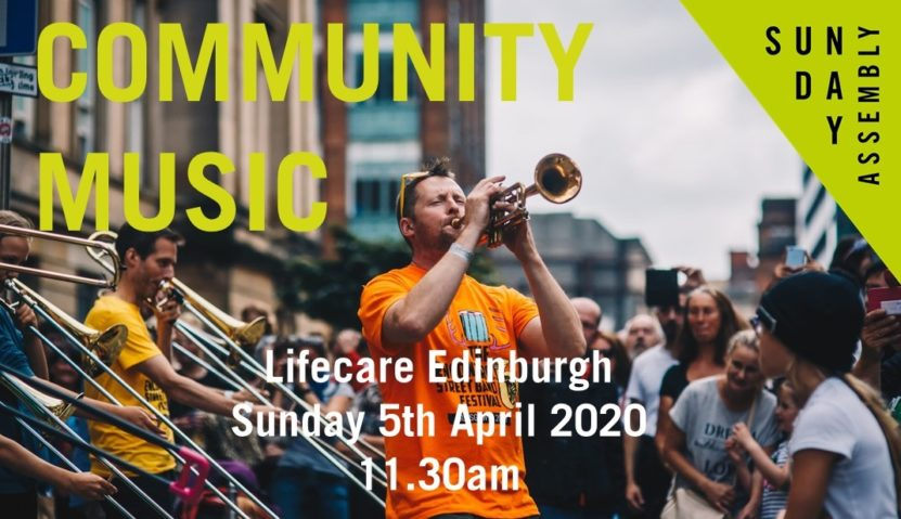 ONLINE Sunday Assembly 5 April 2020: Community Music